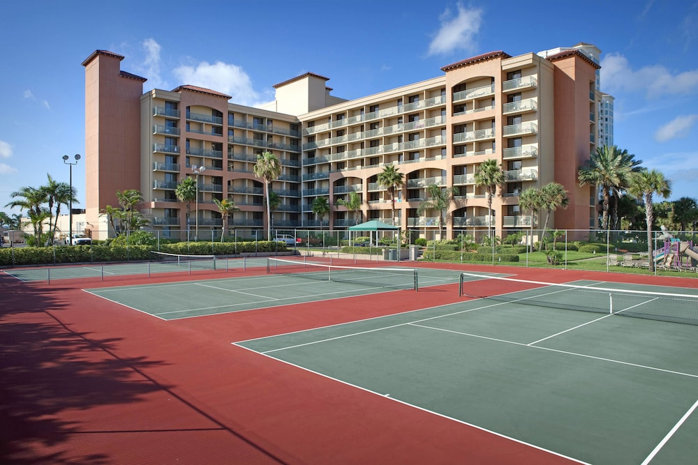 Tennis Court, Sheraton Sand Key Resort