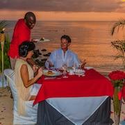 Romantisk restaurang