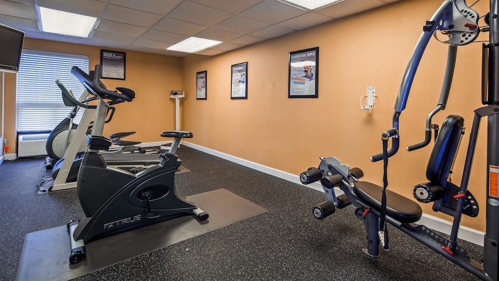 Fitness Facility, Best Western Galaxy Inn