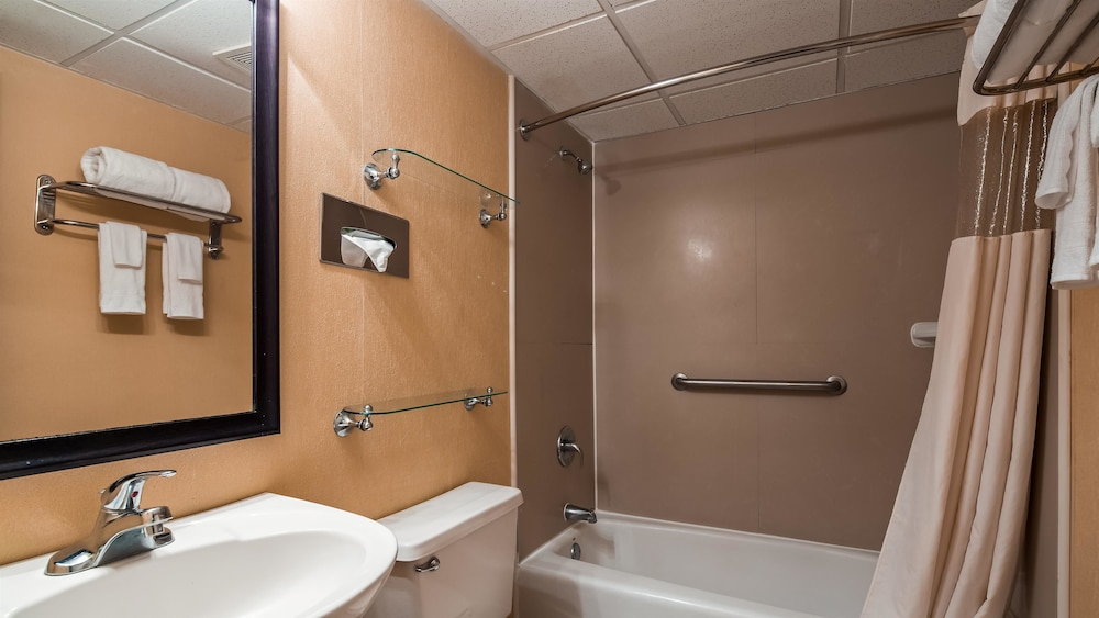 Bathroom, Best Western Galaxy Inn