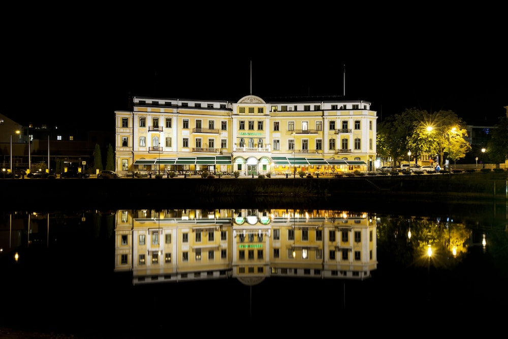 Front of Property - Evening/Night, Elite Stadshotellet Karlstad