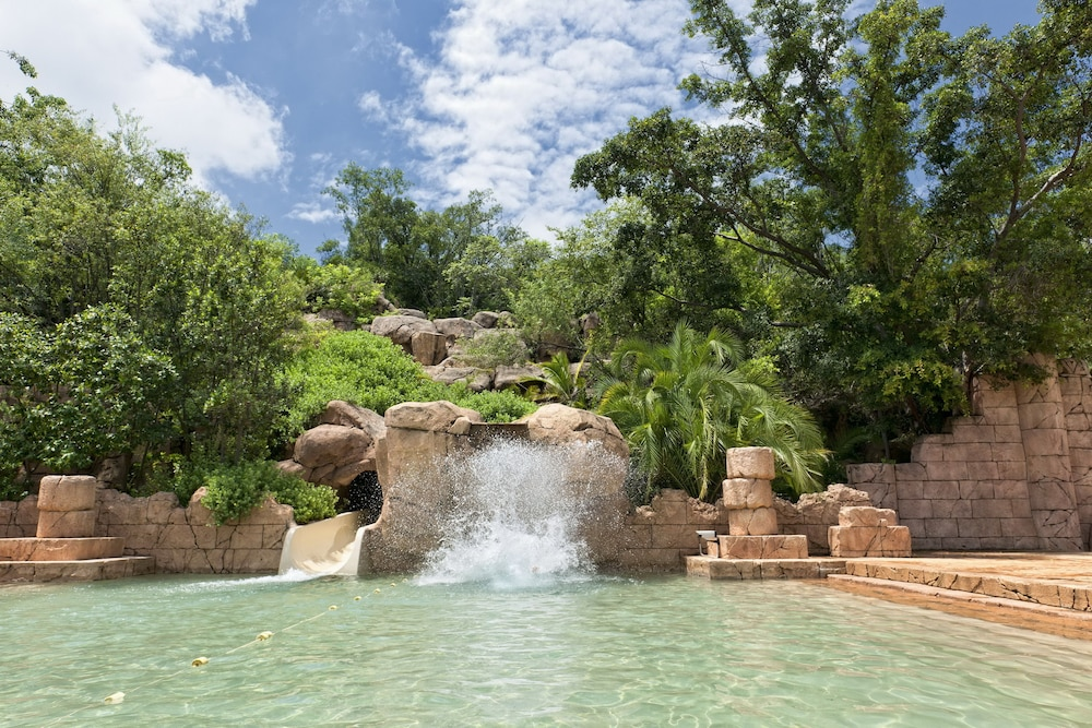 Waterslide, The Cascades Hotel at Sun City Resort