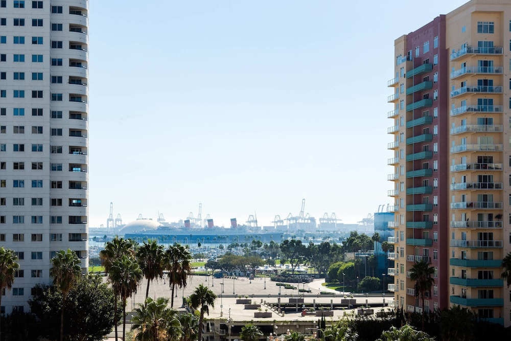 View from Room, Courtyard by Marriott Long Beach Downtown