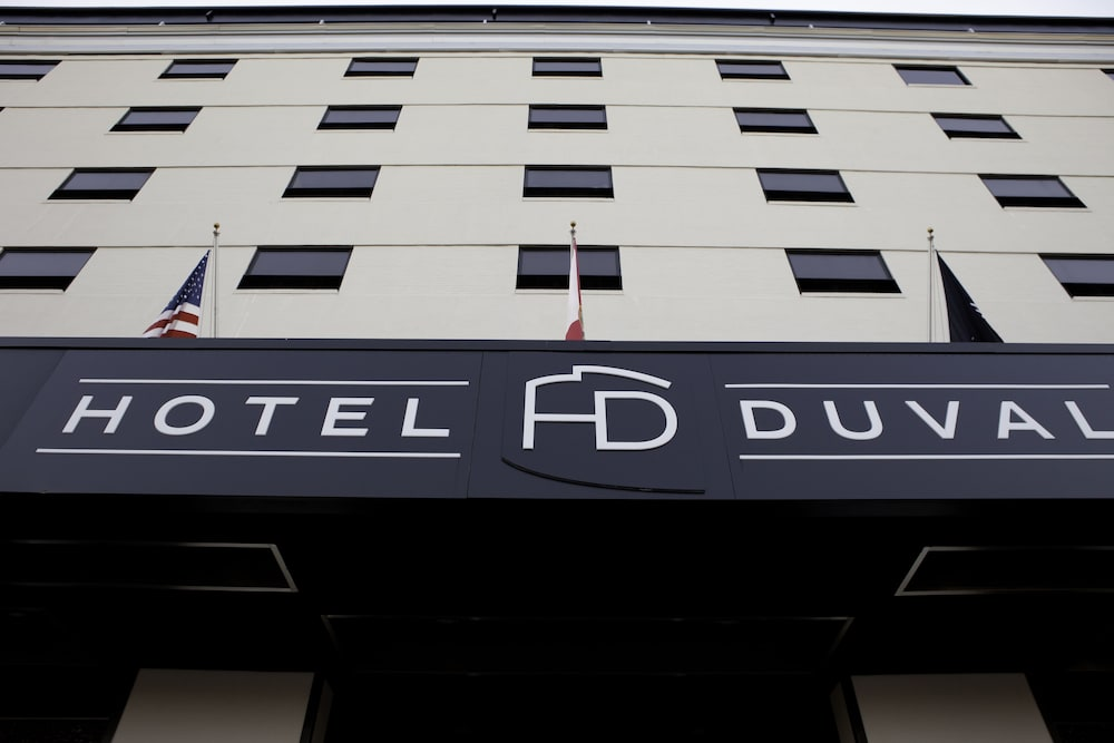Exterior detail, Hotel Duval, Autograph Collection