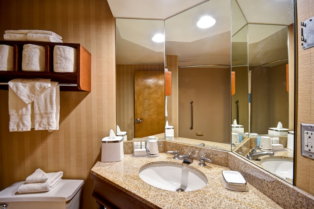 Bathroom, Hampton Inn Louisville-Arpt-Fair/Expo Ctr