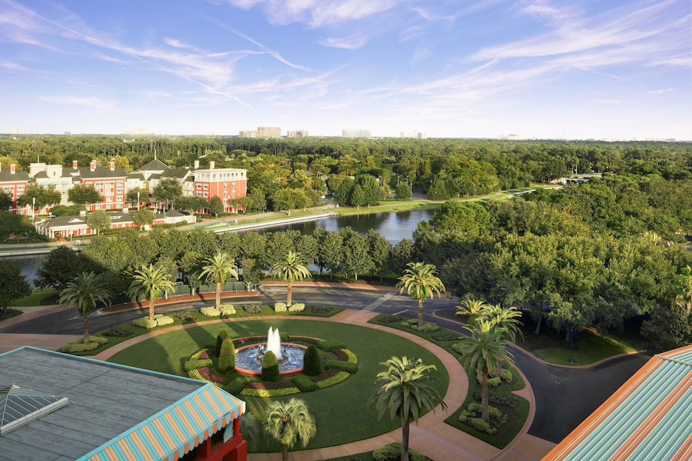 View from Property, Walt Disney World Swan