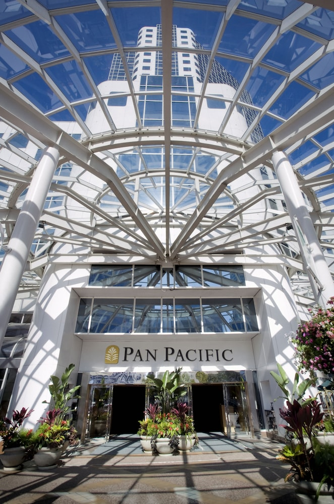 Property Entrance, Pan Pacific Vancouver