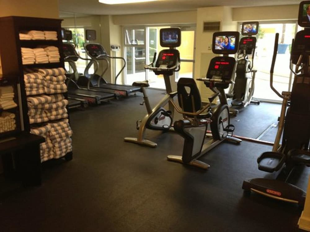 Fitness Facility, Monterey Marriott
