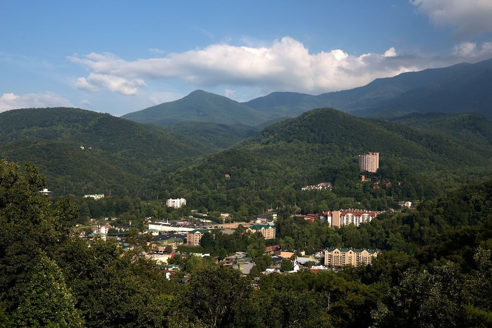 View from Room, The Park Vista - a DoubleTree by Hilton Hotel - Gatlinburg