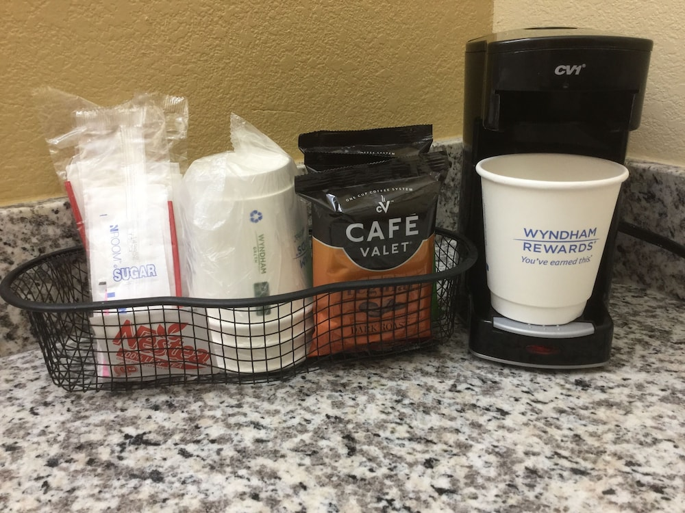 Coffee Service, Days Inn & Suites by Wyndham Warner Robins Near Robins AFB