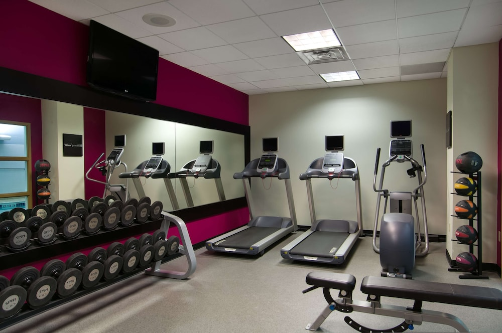 Fitness Facility, Hilton Garden Inn Detroit Downtown