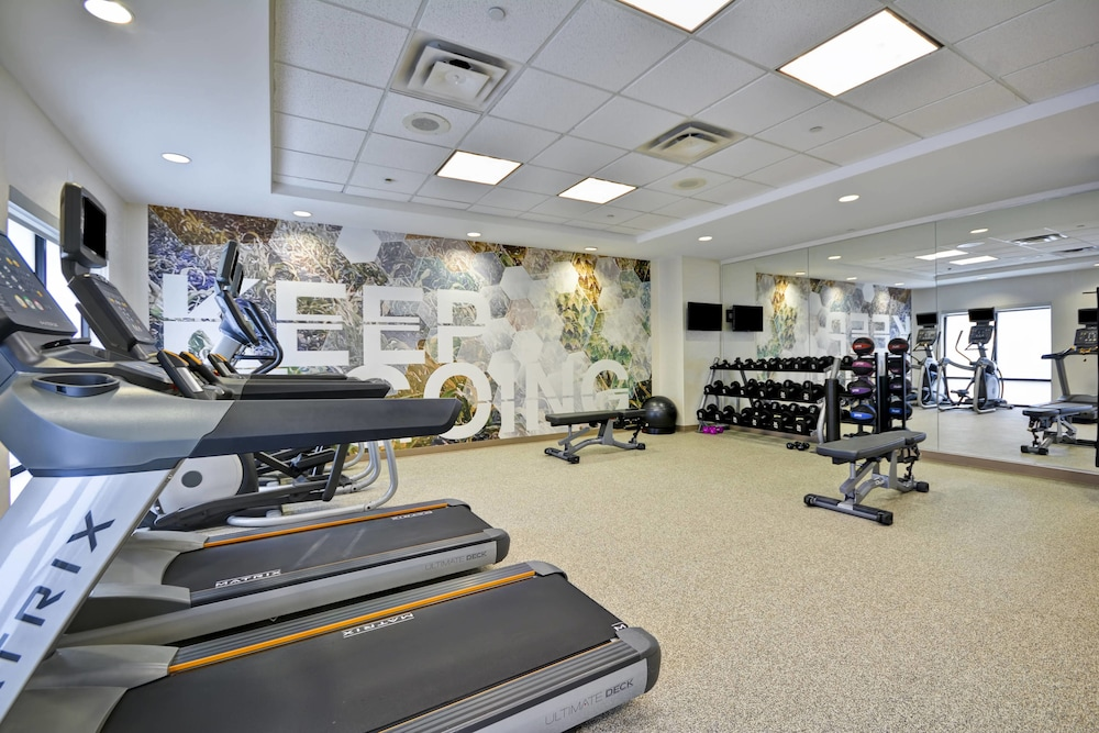 Fitness Facility, SpringHill Suites Lexington Near the University of Kentucky