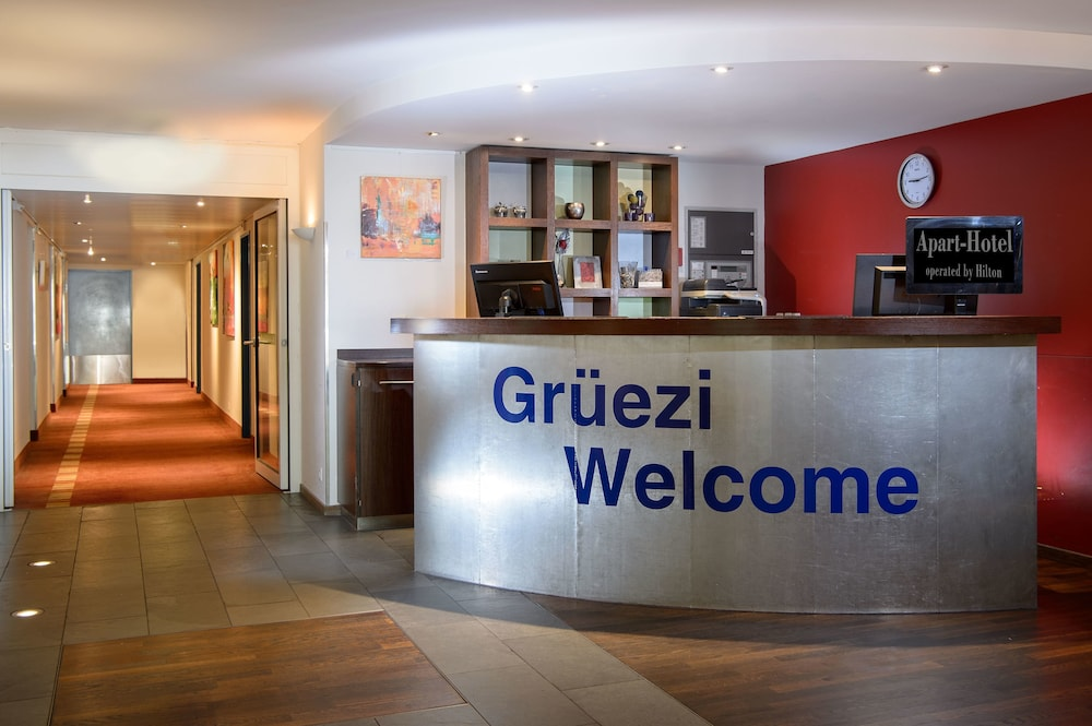 Reception Hall, Apart-Hotel Zurich Airport