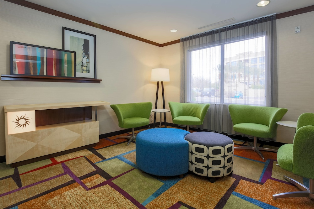 Lobby, Fairfield Inn and Suites by Marriott Las Vegas South