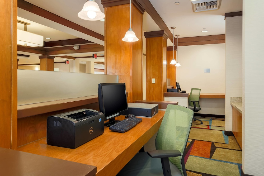 Business Center, Fairfield Inn and Suites by Marriott Las Vegas South