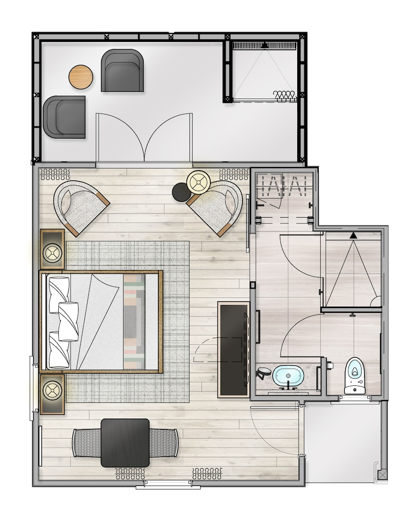 Floor plan, MacArthur Place