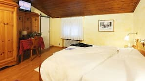 Hypo-allergenic bedding, down comforters, memory foam beds, in-room safe
