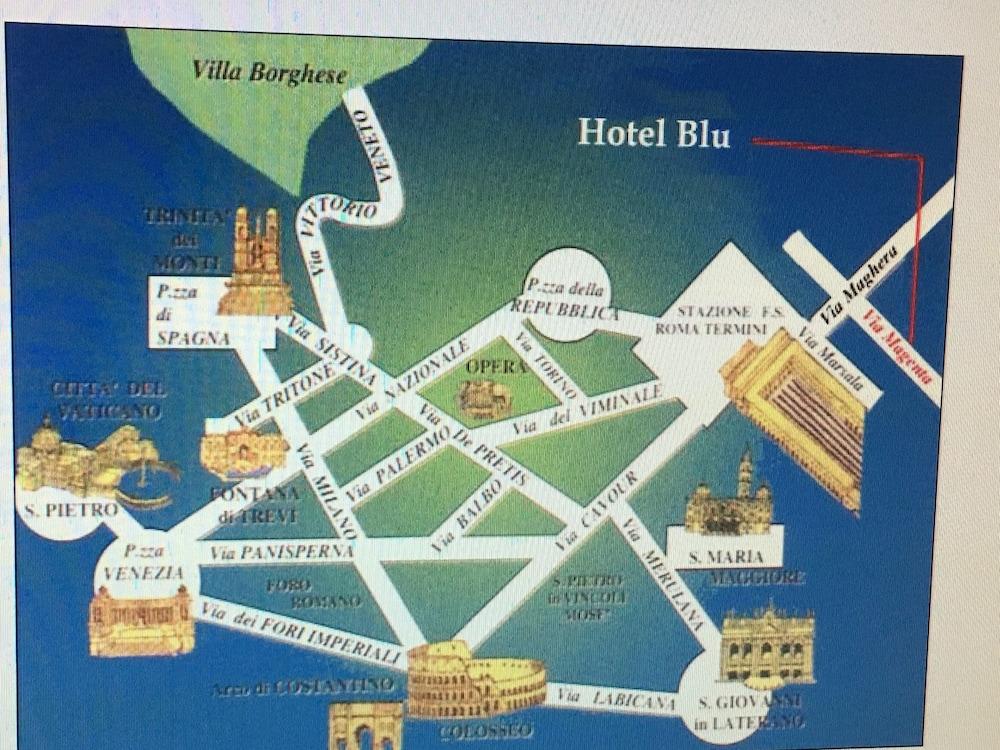 Hotel Soggiorno Blu, Rom: Hotelbewertungen 2018 | Expedia.de