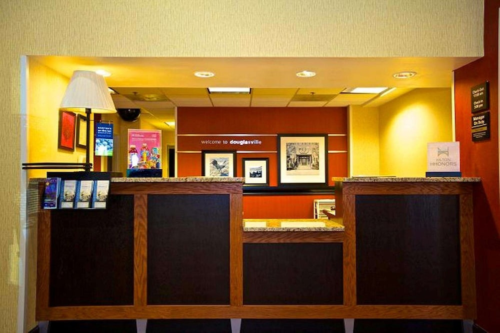 Reception, Hampton Inn Atlanta/Douglasville
