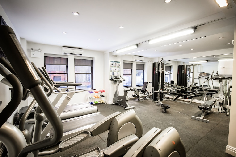 Gym, The Belvedere Hotel