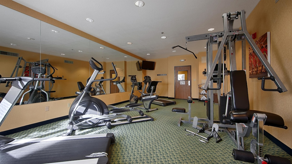 Fitness Facility, Best Western Plus Fresno Inn