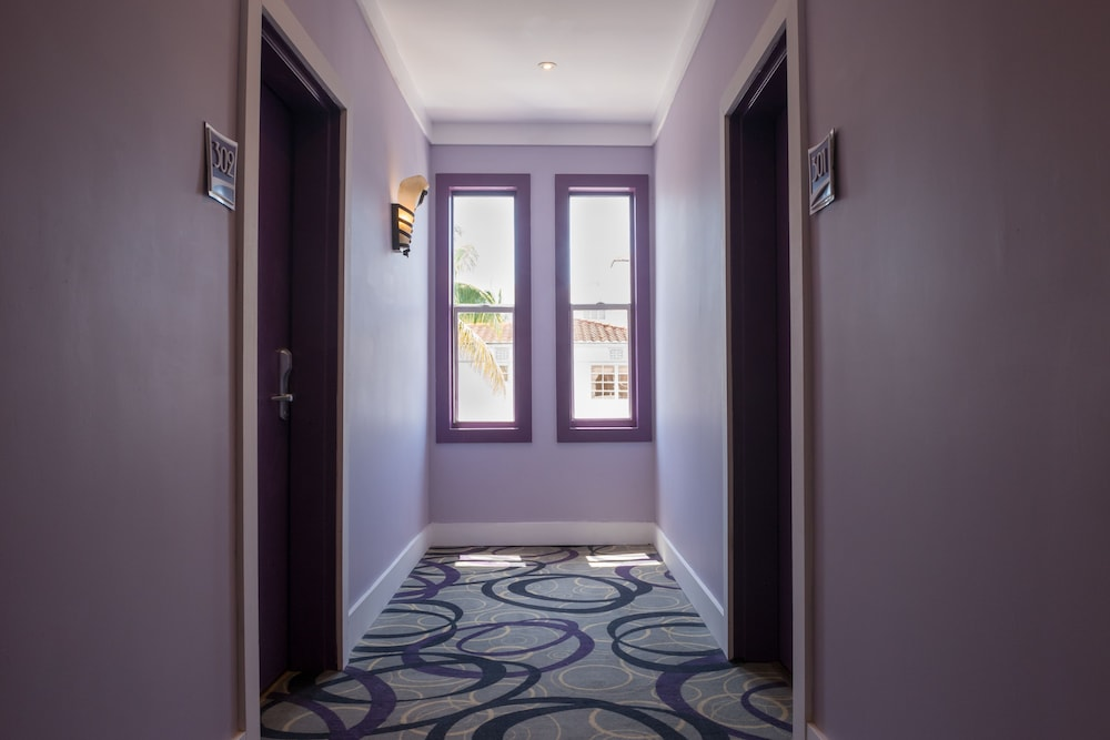 Hallway, Hotel Shelley, a South Beach Group Hotel
