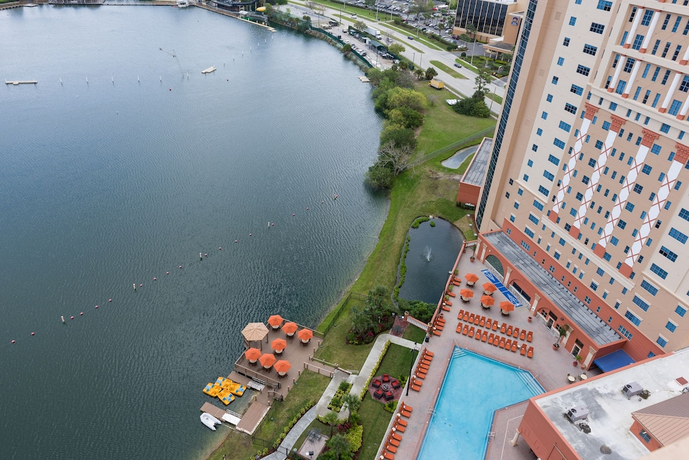 Aerial View, Westgate Palace a Two Bedroom Condo Resort