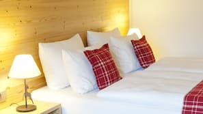 Premium bedding, free minibar, in-room safe, blackout drapes