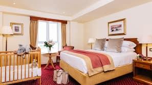 Premium bedding, in-room safe, desk, free wired internet