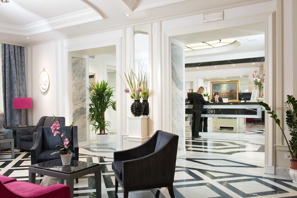 Reception, Hotel Imperiale