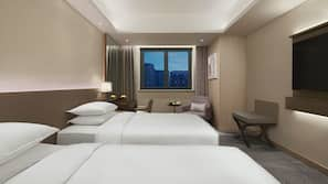 Minibar, in-room safe, blackout curtains, iron/ironing board