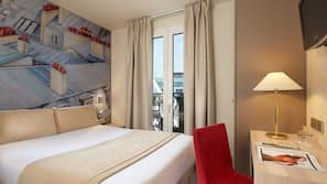 1 sovrum, minibar, värdeförvaringsskåp på rummet och skrivbord