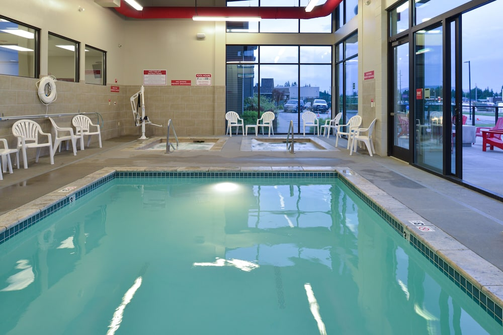 Indoor Pool, Hotel Ruby Ponderay/Sandpoint