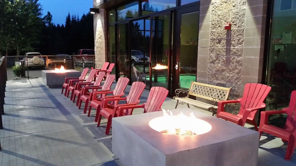 Terrace/Patio, Hotel Ruby Ponderay/Sandpoint