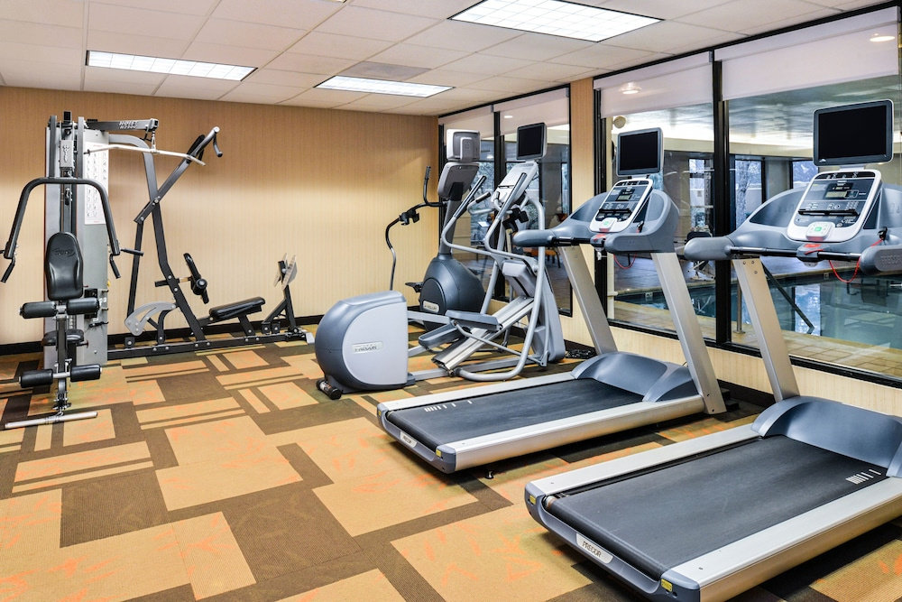 Fitness Facility, Courtyard by Marriott Beaumont