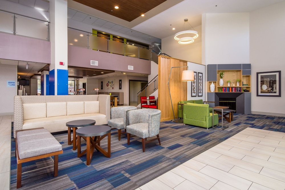 Lobby, Holiday Inn Express Hotel & Suites Phoenix-Airport