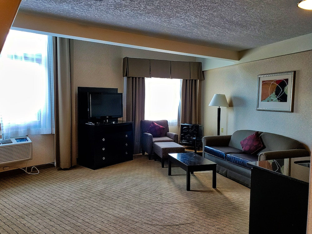 Living Room, Holiday Inn Canmore