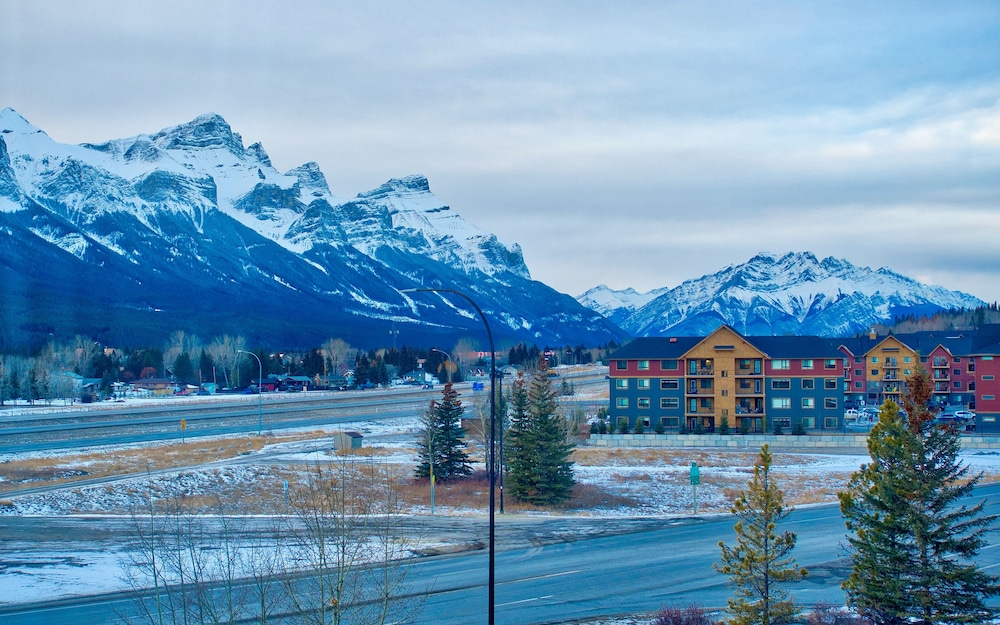 View from Room, Holiday Inn Canmore