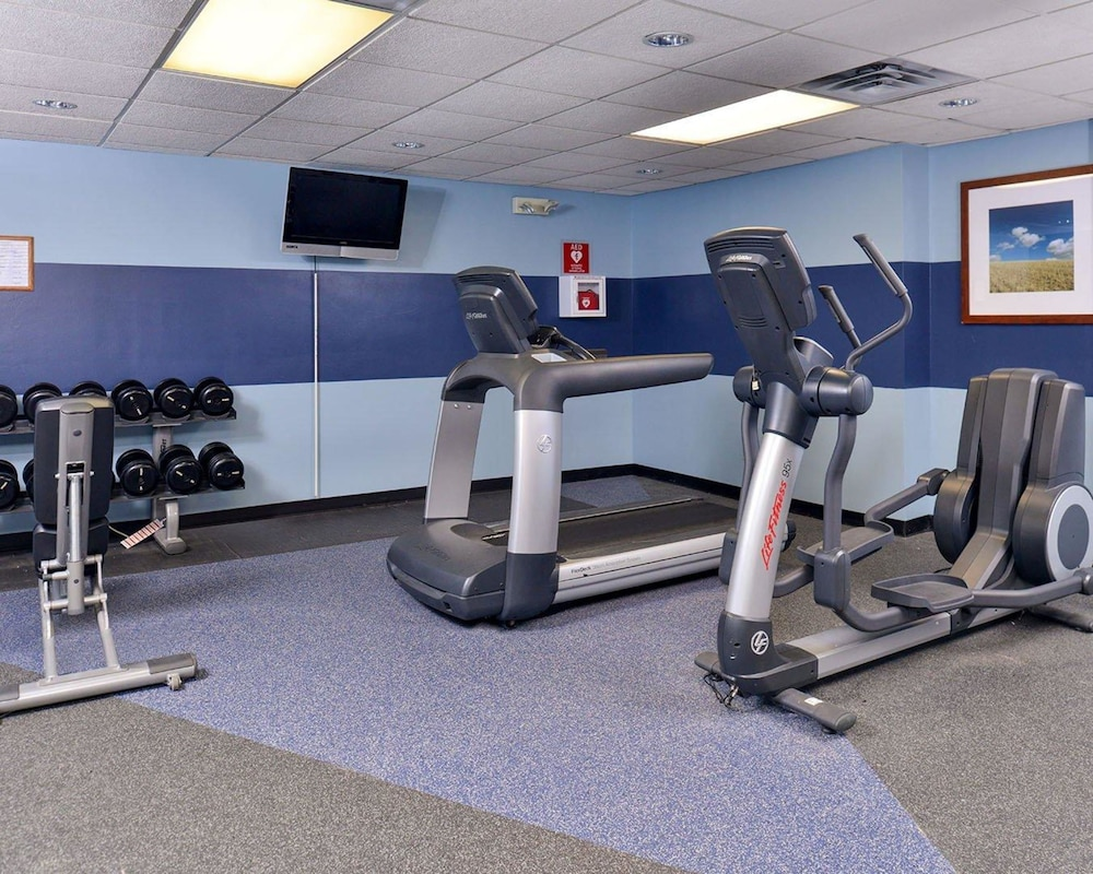 Fitness Facility, Quality Inn Oklahoma City Airport