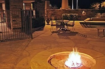 Terrace/Patio, Comfort Inn Benson near Kartchner Caverns