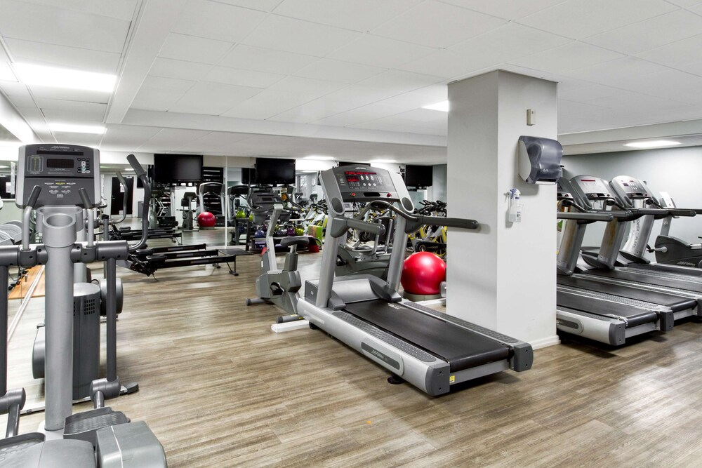 Fitness Facility, Radisson Blu Hotel Manchester, Airport