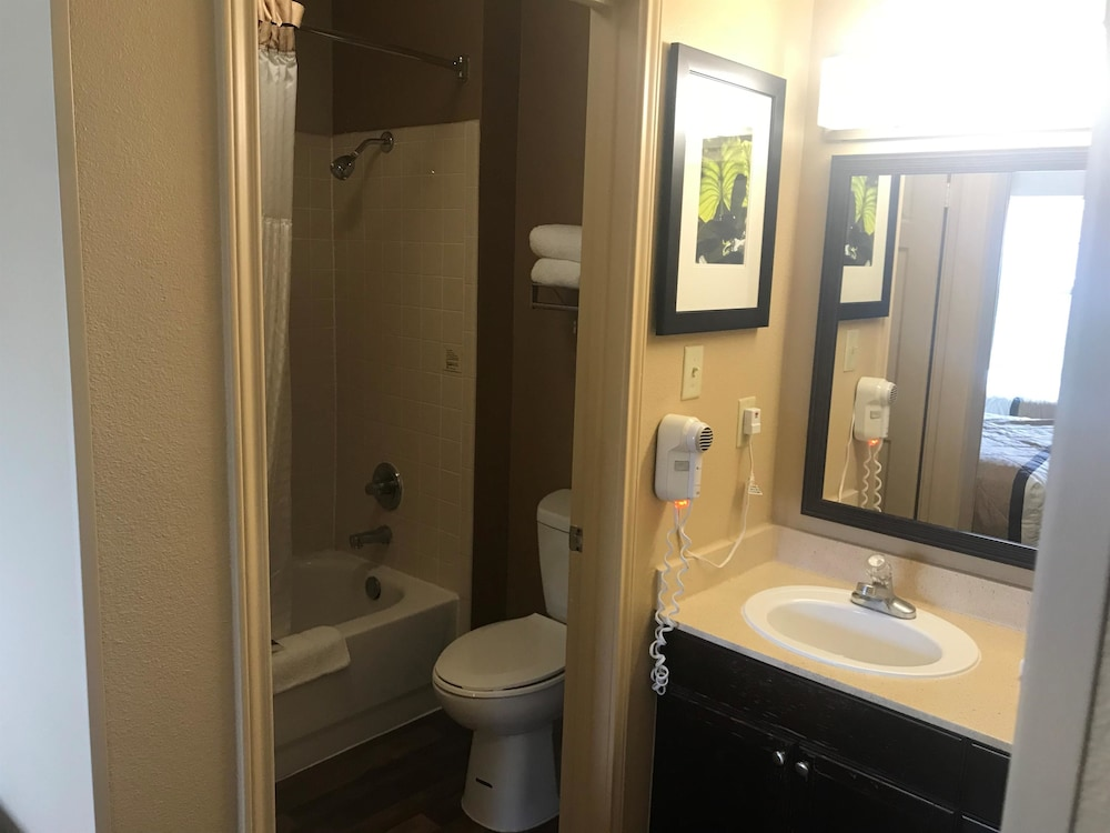 Bathroom, Extended Stay America Houston - NASA - Bay Area Blvd.