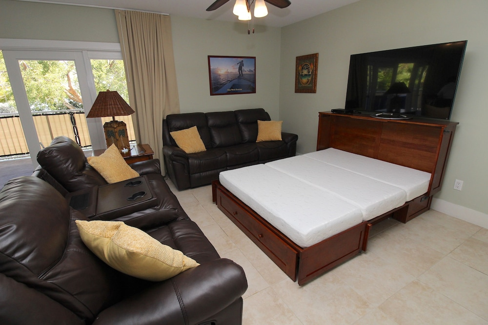 Living Room, Coconut Mallory Resort And Marina By Kees Vacations