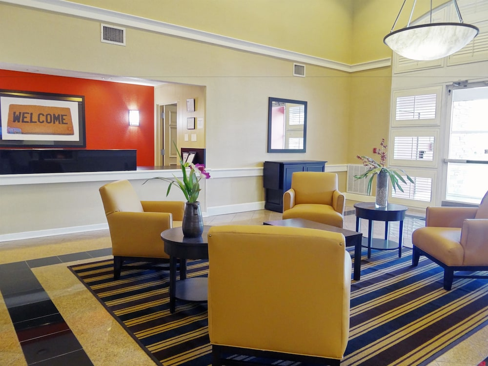 Lobby Sitting Area, Extended Stay America- Kansas City - Overland Park - Metcalf