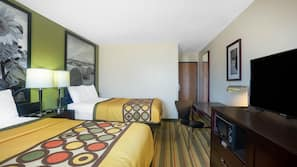 In-room safe, desk, blackout drapes, iron/ironing board