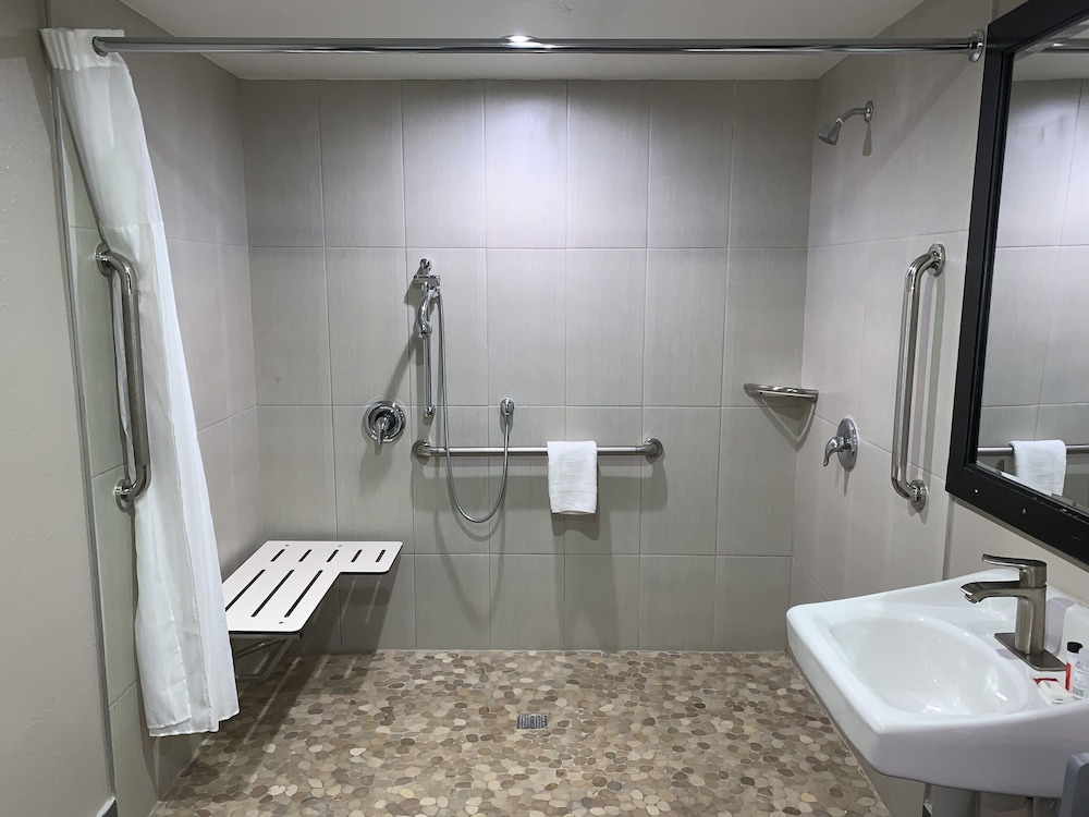 Accessible bathroom, Skyways Hotel