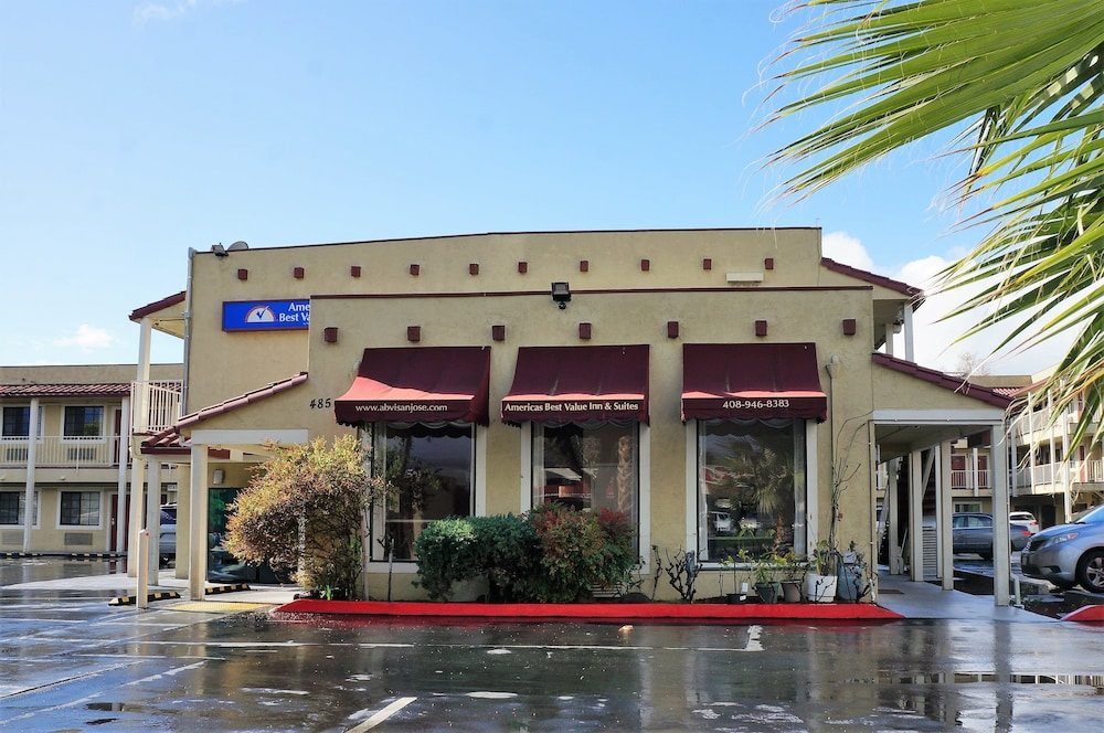Property Grounds, Americas Best Value Inn Milpitas Silicon Valley