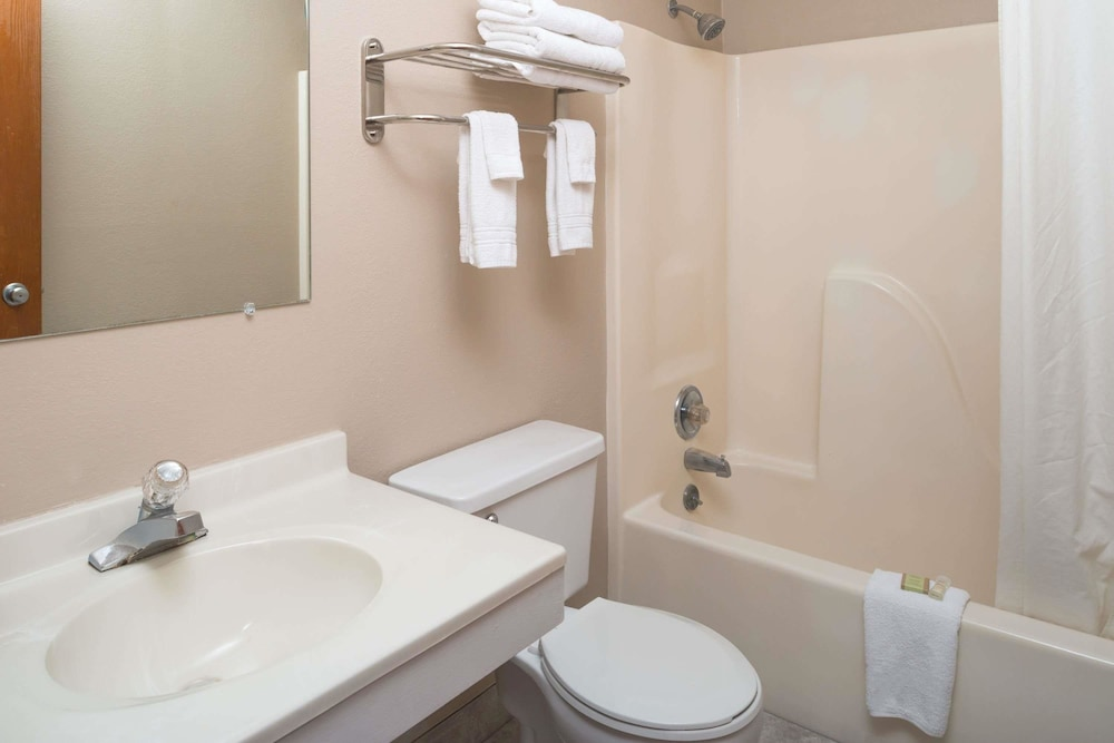 Bathroom, Super 8 by Wyndham Omaha NE