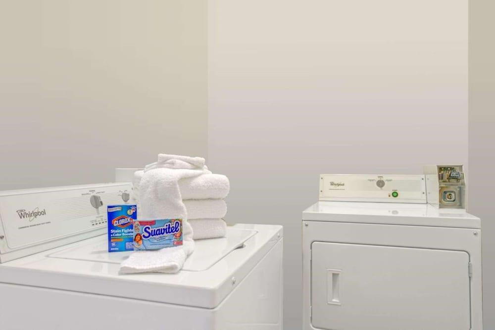 Laundry Room, SureStay Hotel by Best Western Sarasota North