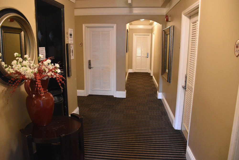 Hallway, South Beach Plaza Hotel